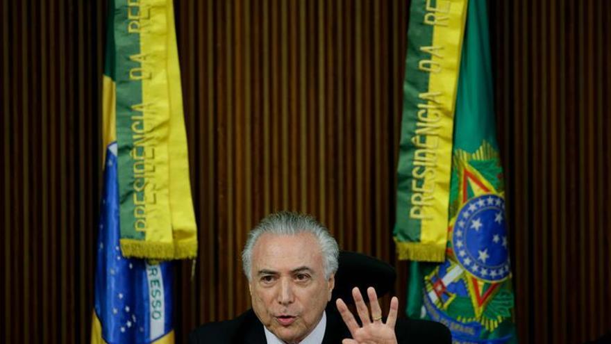 Temer insiste en que el Mercosur debe dar más libertad comercial a sus socios