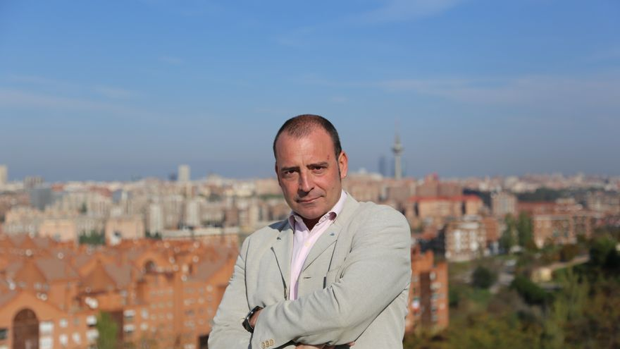 José Antonio Moreno, precandidato de IU de Madrid para la Comunidad