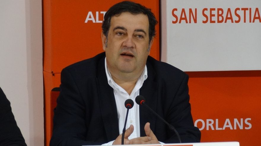 """Gasco (PSE) aboga por """"un gobierno fuerte y transversal"""" en San Sebastián y pide al PNV que aclare qué va a hacer"""