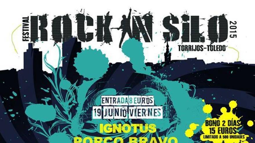 Cartel de Rock In Silo 2015