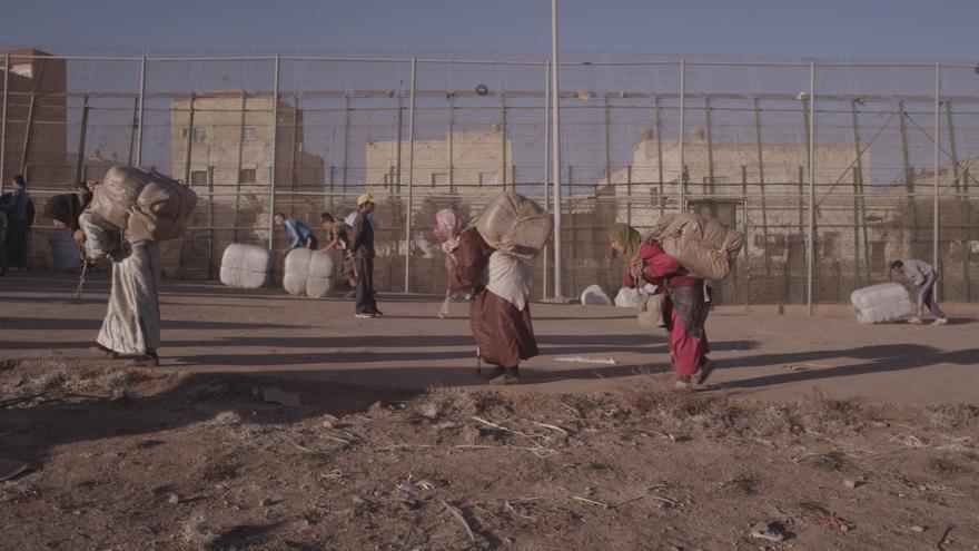 Una de las fronteras que retrata 'Walls', la valla de Melilla / Foto: cedida.