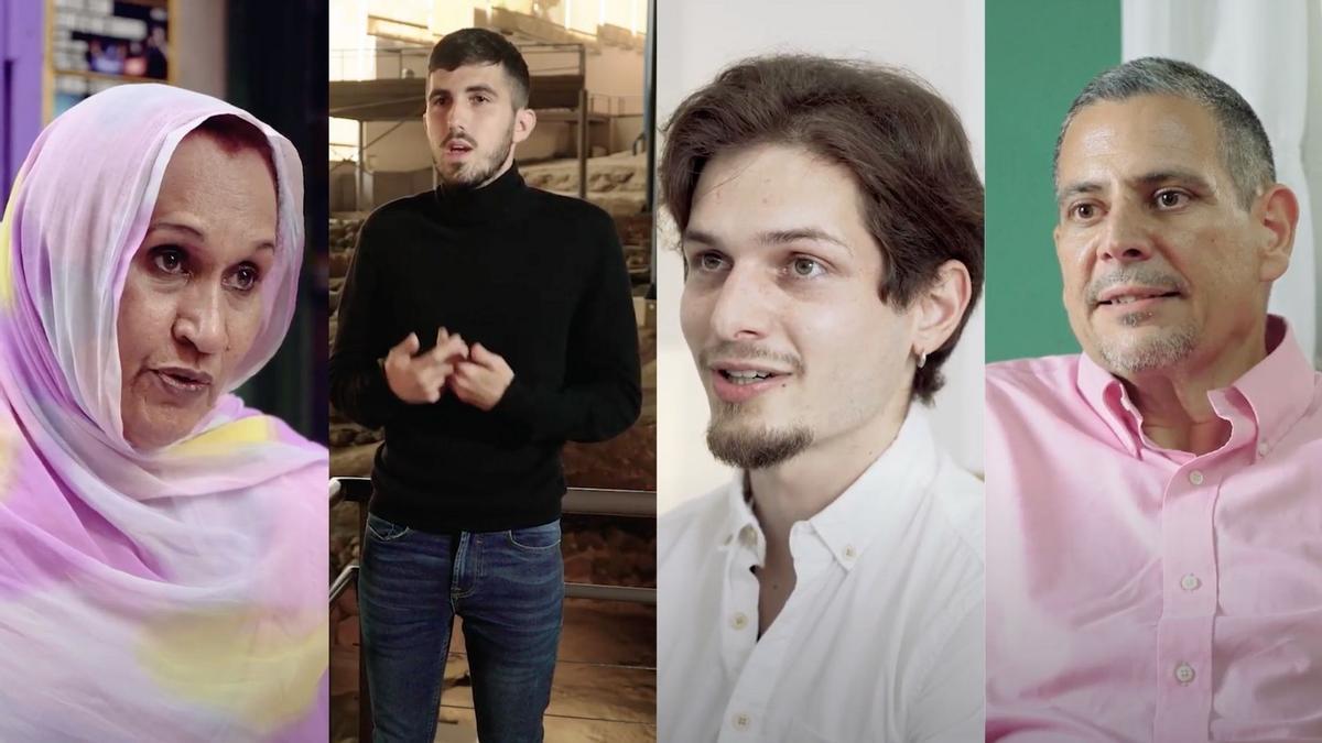 Protagonistas del último programa de 'Trópico Distópico'