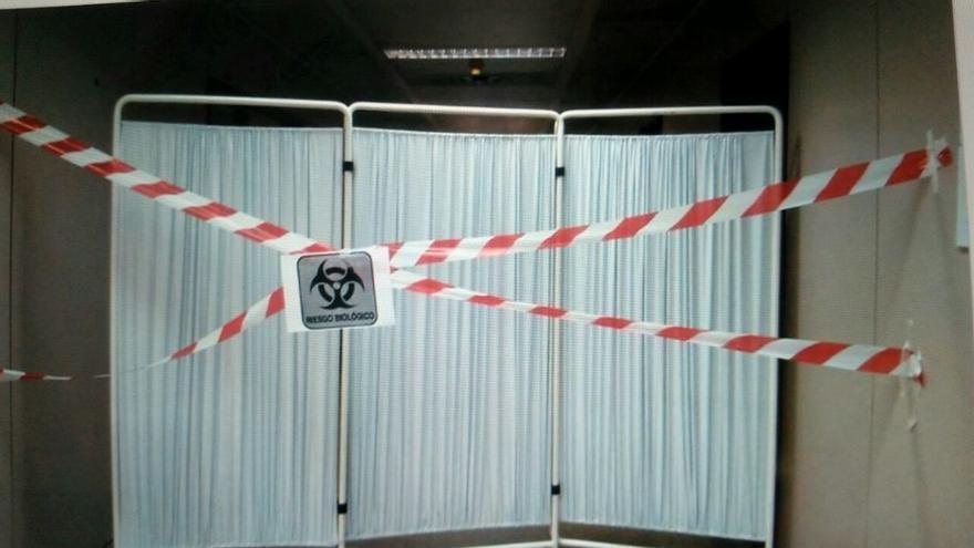 El personal del hospital de Alcorcón  está asustado tras el caso de ébola.