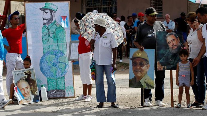 La Cuba del interior vive con mayor intensidad la muerte de Fidel Castro
