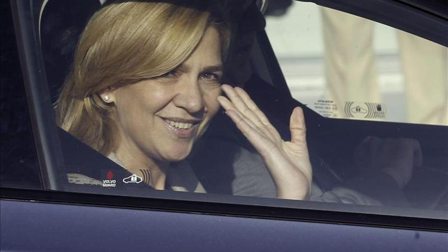 La Fiscalía se opone a la imputación de la infanta Cristina