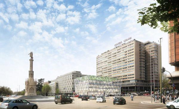 La propuesta de Foster para Plaza de Colón, 1