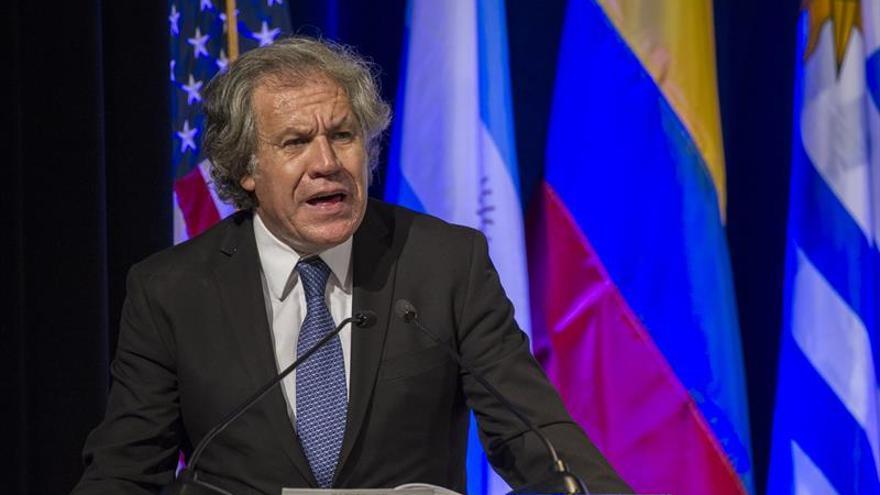 """El secretario de la OEA envía un abrazo a los """"presos políticos"""" liberados en Venezuela"""