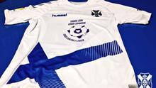 El CD Tenerife jugará frente al Numancia con una camisa de apoyo a Gran Canaria por los incendios