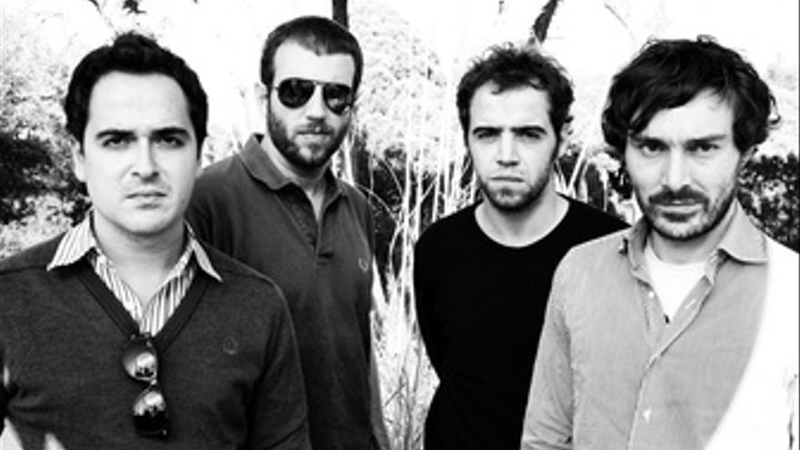 El cuarteto barcelonés Mendetz en una foto promocional