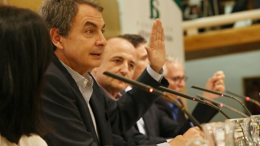 """Zapatero admite que el PP ha reaccionado de forma distinta a lo que se habría esperado """"mirando 12 años atrás"""""""