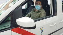 """Así es el día a día de un taxista rural durante el estado de alarma: """"No tenemos ingresos salvo excepciones puntuales"""""""