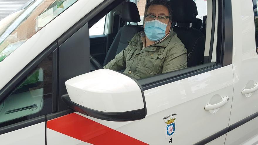 Juan José Sansebrín, taxista de Miguelturra