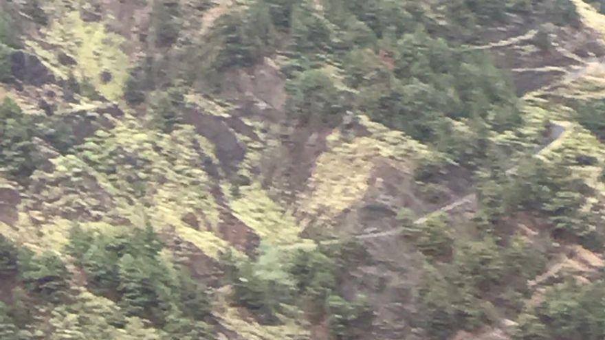 Cruz Roja interviene en el rescate de un hombre en el barranco de Las Angustias