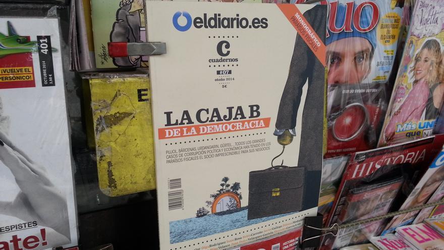 Portada de la revista Cuadernos 'La caja B de la democracia'