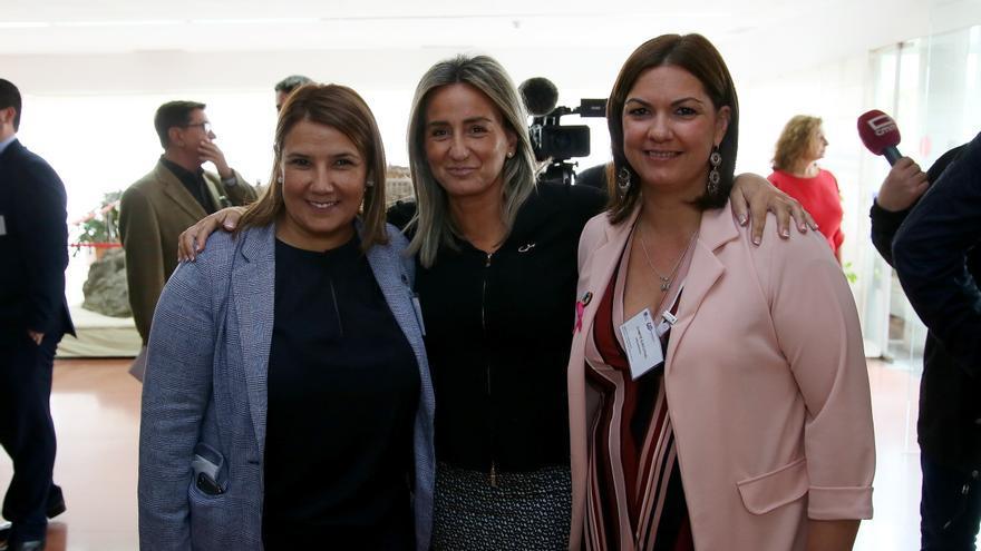Agustina García, Milagros Tolón y Mayte Fernández FOTO: Ayuntamiento de Toledo