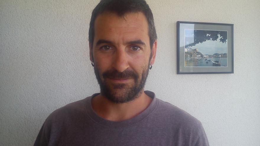 El portavoz de la ONG Sodepaz en Euskadi y Navarra, Asier Aguirregabiria.