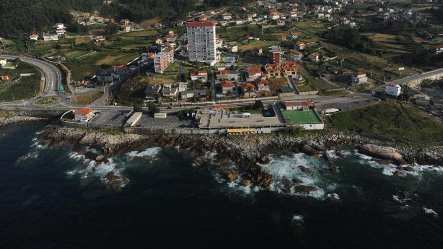 Vista de Baredo, en Baiona, donde termina la autopista Vigo-Val Miñor CC-BY-NC-SA Plan de Ordenación do Litoral