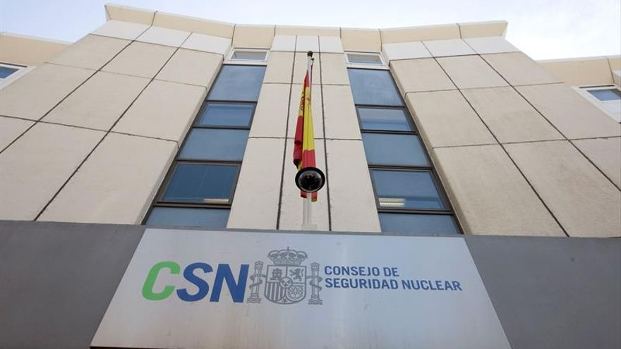 Fachada del CSN.