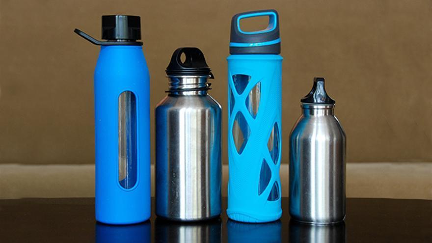 Botellas. Accesorios de viaje respetuosos con el medio ambiente