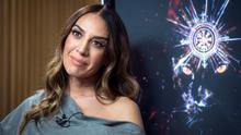 La cantante Mónica Naranjo durante la entrevista concedida a la Agencia Efe  .