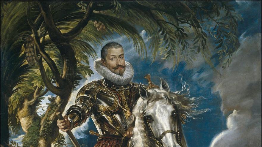 Retrato ecuestre del Duque de Lerma, por Peter Paul Rubens | Museo del Prado