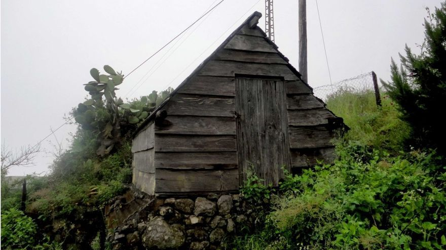 Ejemplo de una casa de tablas. Foto: Javier Díaz Hernández.