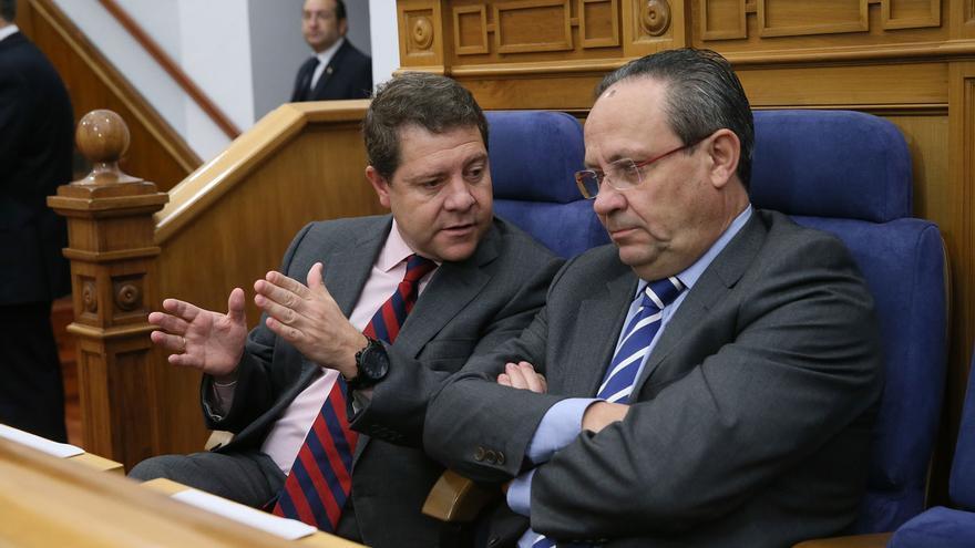 García-Page y Ruiz Molina, hoy, en el Pleno de las Cortes regionales