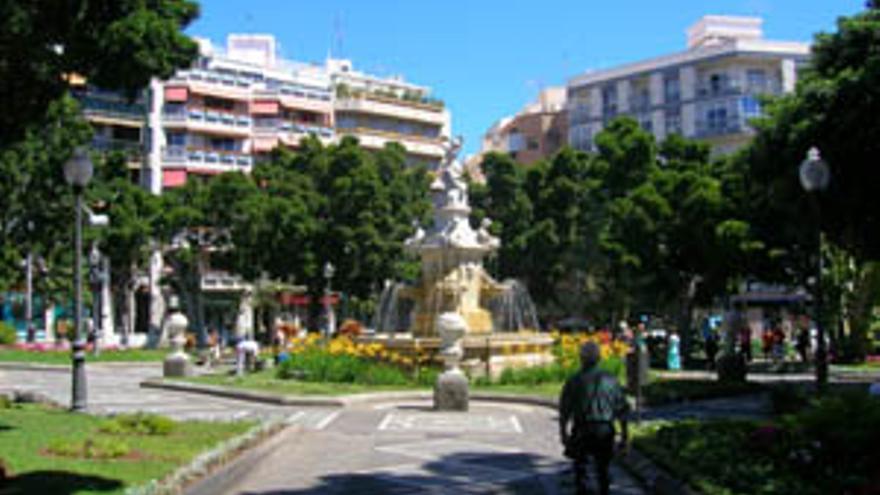 Plaza Weyler. (SERGIO SÁNCHEZ RAMÍREZ)