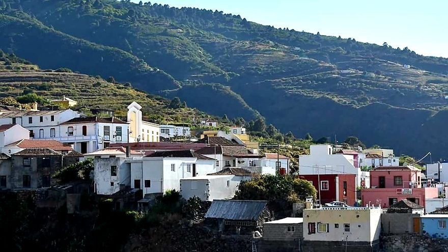 Panorámica del barrio de Gallegos del municipio de Barlovento.