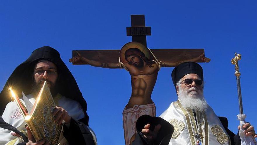 La Semana Santa ortodoxa inicia su tramo final con fascinantes rituales