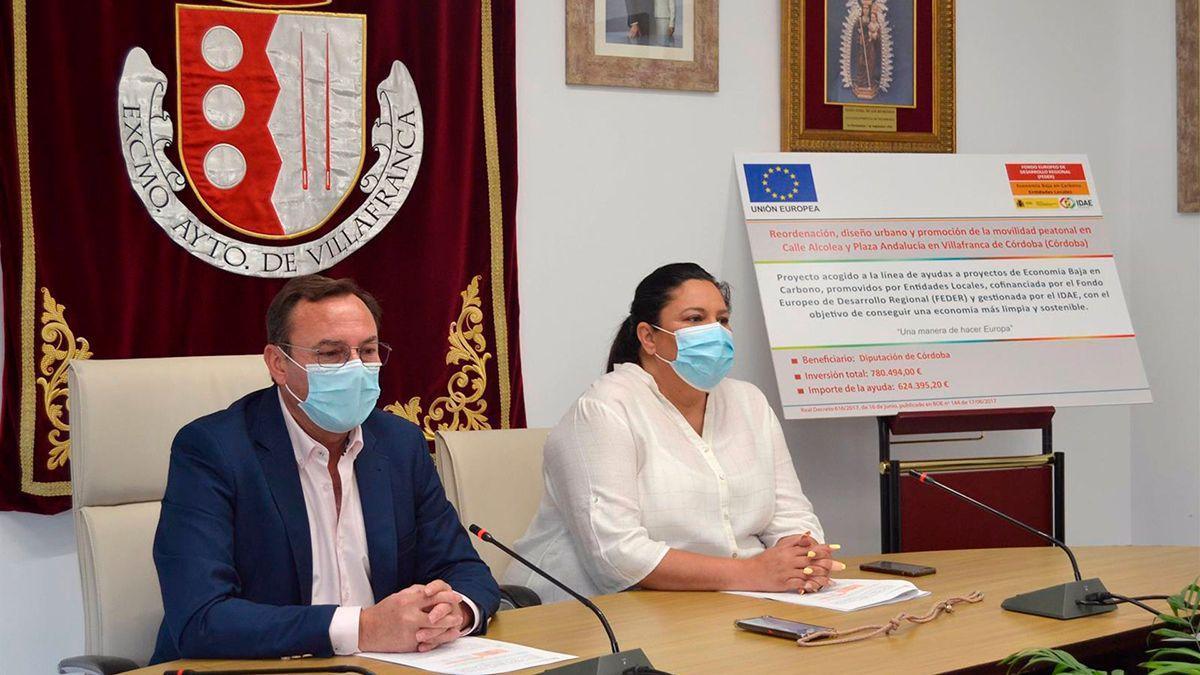 Presentación del proyecto en Villafranca.