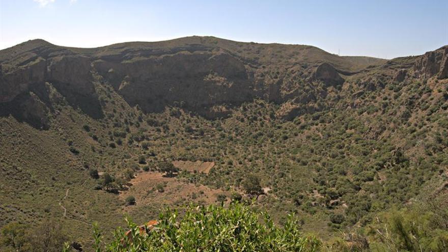 Caldera de Bandama, en Gran Canaria.