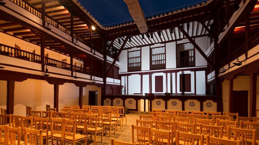 Teatro de Almagro conocido como Corral de Comedias.