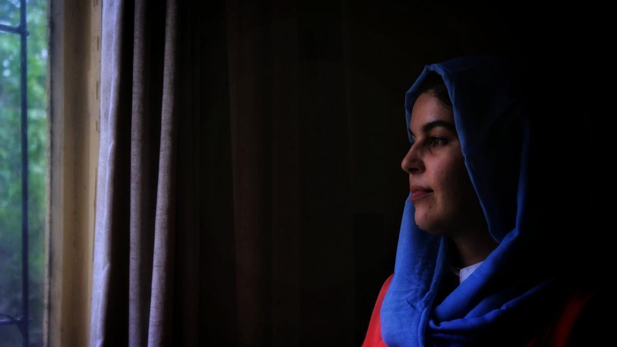 Fariha Esaar, militante de la sociedad civil y miembro de la campaña coral Ma'arif.