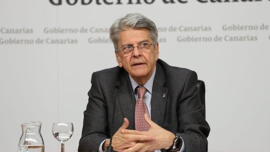 El portavoz del Gobierno de Canarias, Julio Pérez.