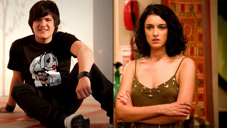 Adam Jezierski (Gorja) y Blanca Romero (Irene), en 'Física o Química'
