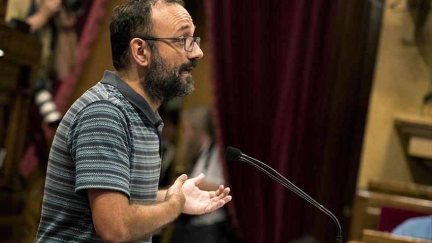 La CUP defiende ley de transitoriedad para hacer efectiva soberanía Cataluña