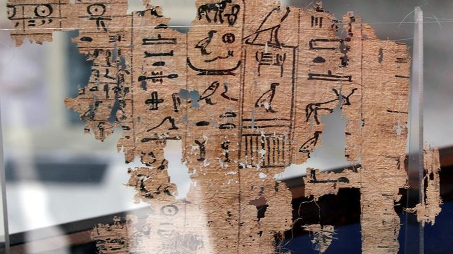 Cientos de papiros narran la vida de los obreros de la Gran Pirámide de Keops