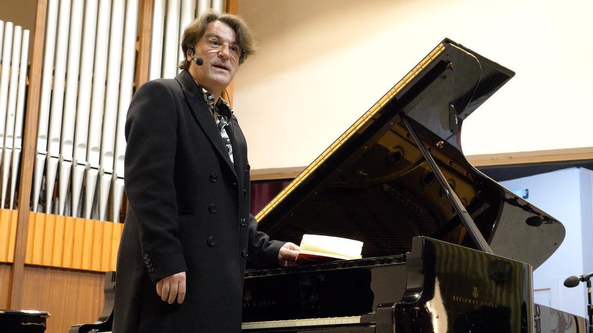 Conferencia de David Dorantes en la Cátedra de Flamencología de la UCO