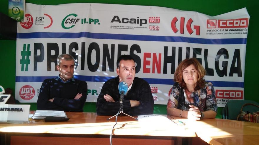 Los trabajadores de prisiones de Cantabria llamados de nuevo a la huelga desde mañana