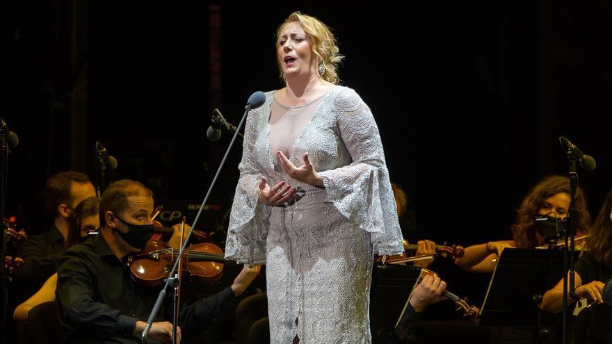 La soprano Saioa Hernández protagoniza una gala de zarzuela en El Escorial