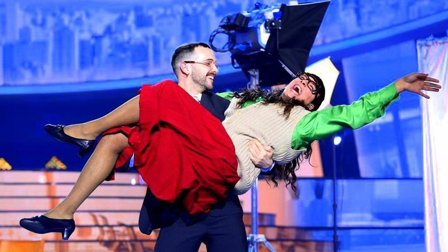 Jorge González convertido en 'Betty la fea' en 'TCMS'