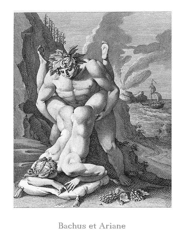 Obra: Bachus et Ariane