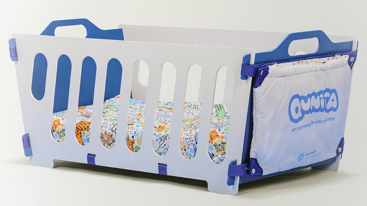 El Plan Qunita consistía en la entrega de kits de cunas, chupete, moisés, entre otros objetos para recién nacidos.