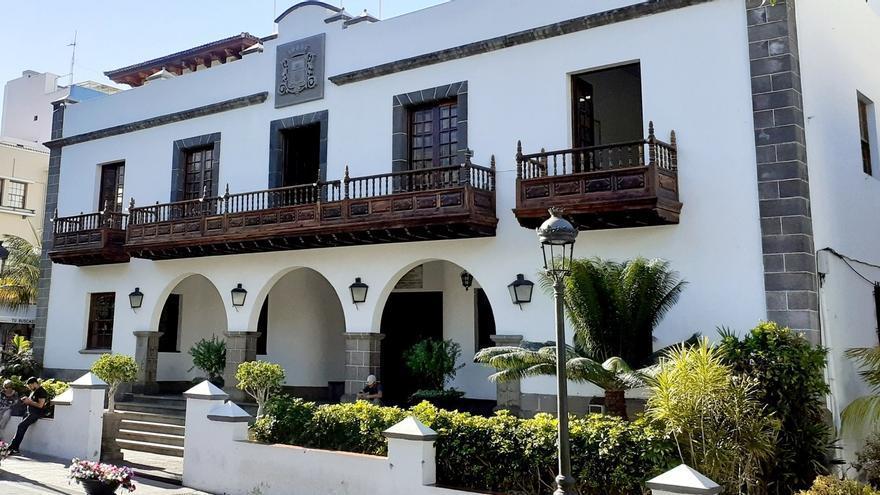 Fachada del Ayuntamiento de Los Llanos de Aridane.