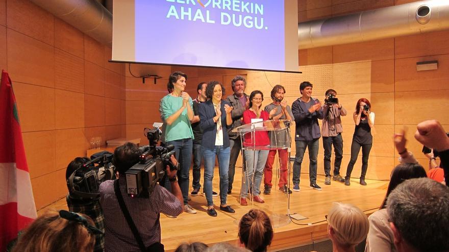"Alba (Unidos Podemos) destaca que Euskadi ha vuelto a ser ""avanzada del cambio"""