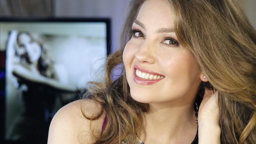 """Thalía quiere proyectar en su disco """"Amore mío"""" su lado más apasionado"""