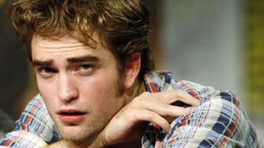 El actor de Crepúsculo Robert Pattinson