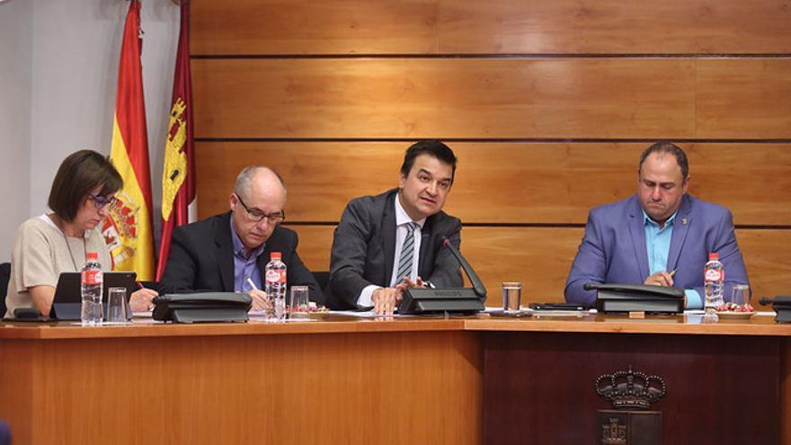 Francisco Martínez Arroyo en comisión parlamentaria