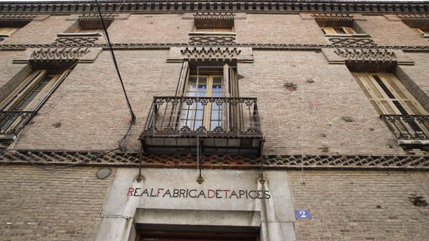 La Comunidad destinará 500.000 euros a la Fundación Real Fábrica de Tapices